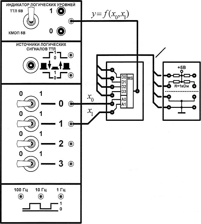 Схема для тестирования